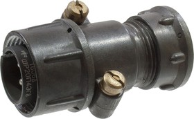 ШР20П4ЭГ8 (вилка с экран.патрубком на кабель),(15-16г)(приемка ОТК)