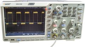XDS3102 8bit, 2кан. 100МГц 1Гв/с осциллограф