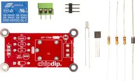 Фото 1/3 RDC1-1RT Relay KIT, Одноканальный релейный модуль-конструктор для Arduino, Raspberry Pi проектов