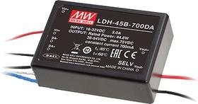 LDH-45A-700WDA, DC/DC LED, блок питания для светодиодного освещения