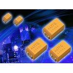 Фото 3/5 TCJC226M025R0100, Танталовый полимерный конденсатор, 22 мкФ, 25 В, Серия TCJ, ± 20%, C, 0.1 Ом