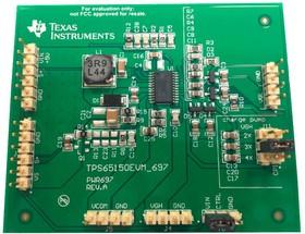 TPS65150EVM-697, Оценочная плата, источник питания дисплея со смещением, TPS65150
