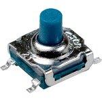 IT-7701SA-250G-G, кнопка тактовая 7х7 SMD h=7мм герметичная