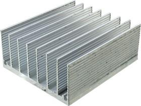 ABM-161, радиатор ребристый 43х20мм длина 50мм (HS-117)