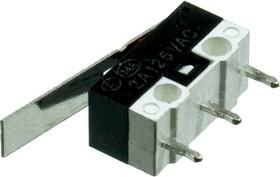 L-KLS7-KW10-Z2P-045, микропереключатель с лапкой 125В 2A (аналог DM3-03P)