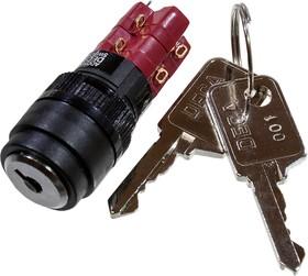 ADD16K4-AR0-2C кнопка ключ.с фик. 250В/5А