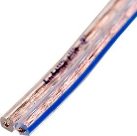 SCC-17 2X0.50ММ2, SCC-17, Кабель акустический, 2x0.50мм2, прозрачный, 100м на катушке
