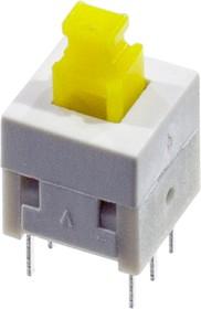 Фото 1/2 L-KLS7-P8.0X8.0 0 (NON LOCK), кнопка без фикс. 8мм 30В 0.1A (аналог B170H)