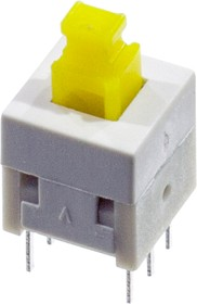 KLS7-P8.0x8.0 0 кнопка без фикс. 8мм 30В 0.1A (B170H)