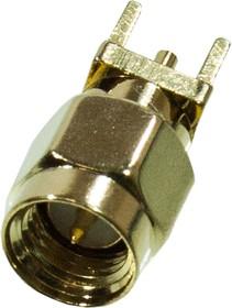 L-KLS1-SMA007, разъем SMA вилка на плату прям. 50Ом