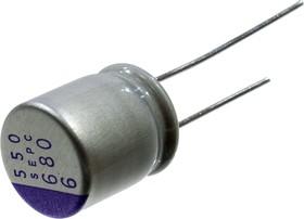 6SEPC680M, 680 мкф 6.3 В -55+105гр 10х13 5000h