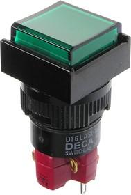 D16LMS1-1ab0G кнопка без фикс. 250В/5А
