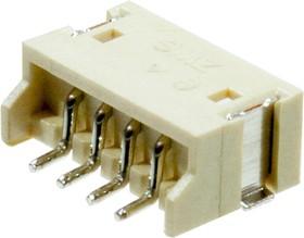 KLS1-XL1-1.50-04-RM-T, 1.5mm SMT вилка на плату угл.4 к.(S4B-ZR-SM4A)