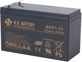 BPS 7-12, Аккумуляторная батарея B.B. Battery