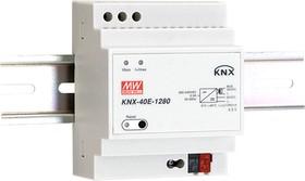 Фото 1/2 KNX-40E-1280, Блок питания для шины KNX