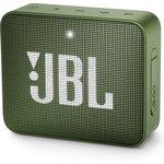 Колонка порт. JBL GO 2 зеленый 3W 1.0 BT/3.5Jack 730mAh ...
