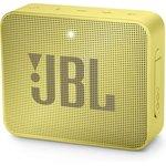 Колонка порт. JBL GO 2 желтый 3W 1.0 BT/3.5Jack 730mAh ...