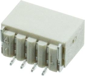 L-KLS1-XF1-1. 00-1-04-RM-R, 1.0mm SMT вилка на плату угл.4 конт.(аналог SM04B-SRSS)