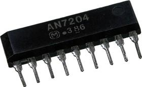 AN7204, ИМС для портативных кассетных магнитол