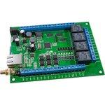 Laurent-2G, GSM/LAN управляемый модуль 4реле/6IN/12OUT/ 2АЦП/4счет-ка