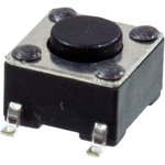 L-KLS7-TS6604-4.3-180-T, кнопка тактовая SMD h=4.3мм (аналог ...
