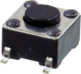 KLS7-TS6604-4.3-180-T, кнопка тактовая SMD h=4.3мм (IT-1102W8)