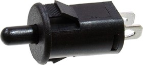KLS7-PBS-011E кнопка OFF-(ON) 250В 5А черн. (PBS-29B)