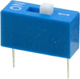 L-KLS7-DS-01-B-00, DIP переключатель 1 поз.(аналог SWD 1-1 ВДМ 1-1)