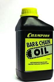 Масло CHAMPION 952824 1л адгезионное для смазки цепи и шины