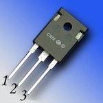 Фото 3/4 C2M0025120D, Транзистор N-SICFET 1200В 90А [TO-247-3]