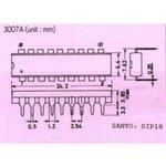 Фото 6/6 PIC16F627A-I/P, Микроконтроллер 8 бит, Flash, PIC16F, 20 МГц, 1.75 КБ, 224 Байт