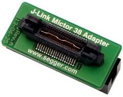 Фото 1/2 J-Link Mictor 38 Adapter