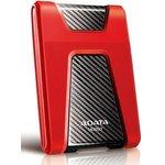 """Жесткий диск A-Data USB 3.0 1Tb AHD650-1TU31-CRD HD650 DashDrive Durable 2.5"""" красный"""