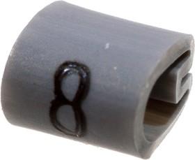 """EC0212-000, 05811808, маркер """"8"""" на кабель 2-3.2мм серый"""