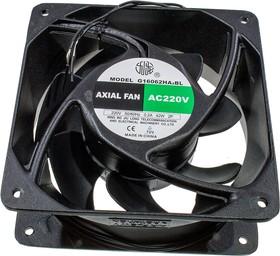 G16062HA2BL, вентилятор 220В 160х160х62мм