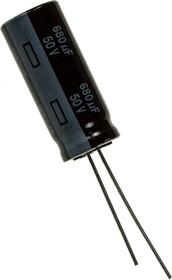 (К50-35) 680мкф 50В 105гр, 12.5х30 10000ч low ESR, EEUFR1H681L