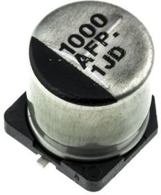 EEEFP1A102AP, Cap Aluminum Lytic 1000uF 10V 20% (10 X 10.2mm) SMD 0.06 Ohm 1190mA 2000h 105C Automotive T/R