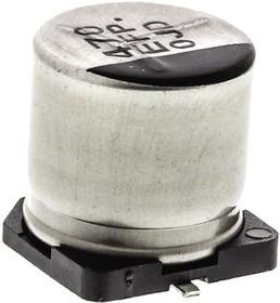 Фото 1/3 EEEFP1E471AP, Cap Aluminum Lytic 470uF 25V 20% (10 X 10.2mm) SMD 0.06 Ohm 1190mA 2000h 105C Automotive T/R