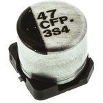 Фото 3/3 EEEFP1C470AP, электролитический конденсатор SMD 47мкФ, 16В 6.3x5.8