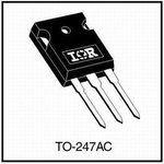 Фото 3/4 IRG4PC50WPBF, IGBT 600В 55А 150кГц [TO-247]