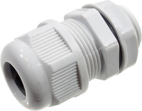 KLS8-0616-MG-20-W, кабельный ввод Nylon IP68 9-14mm (AG-20) серый