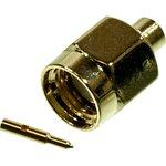 L-KLS1-SMA004, разъем SMA вилка на кабель 50Ом