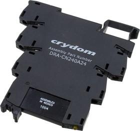 DRA-CN240A24 реле на DIN рейку 6mm 240VAC/2A, 24VDC In, Zero Cross