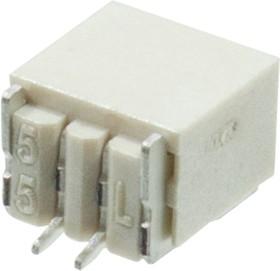 KLS1-XF1-1.00-1-02-RM-R, 1.0mm SMT вилка на плату угл.2 к.(SM02B-SRSS)