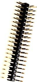 PLD-40R тип2 вилка штыревая 2.54мм 2x20 угл. 13x8мм