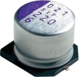 6SVP22M, ЧИП 22 мкф 6.3 В -55+105гр 4х5.5 2000h