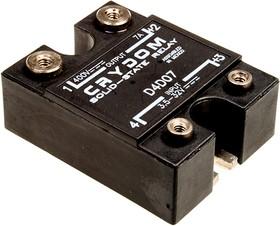 D4D07, реле 3,5-32VDC,7А/400VDC