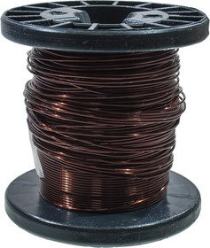 ПЭТВ-2 d=0.9мм провод эмалиров.обмоточный 32 м(+.-5%) катушка 200г