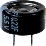 Фото 2/3 EECF5R5U224, 0.22 Ф, 5.5 В, 5 мм, 1408H, Ионистор