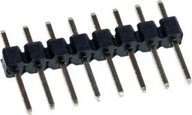 PLS- 8 вилка штыревая 2.54мм 1x8 прям KLS